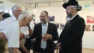 When the Rav and the Kibbutz-member sang duet