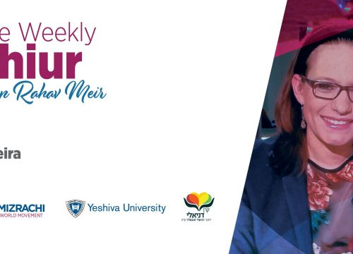 Grace and Laughter- Two Lessons From Avraham – The Weekly Shiur – Parashat Vayeira 5780