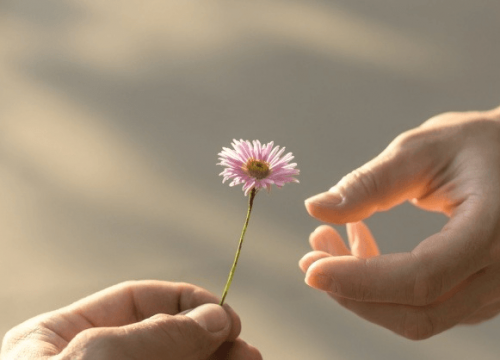 To give and to love