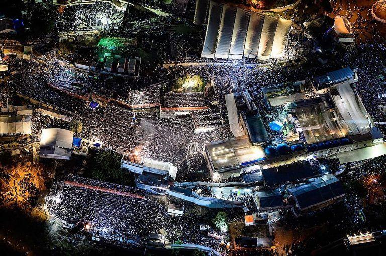 מירון בשנה שעברה. צילום: ישראל ברדוגו