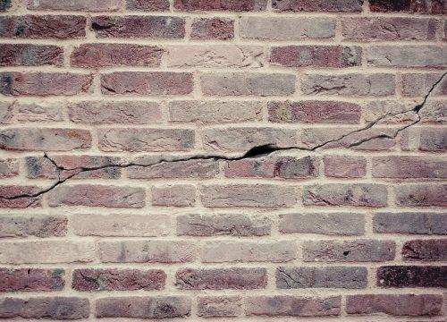 Notice the cracks