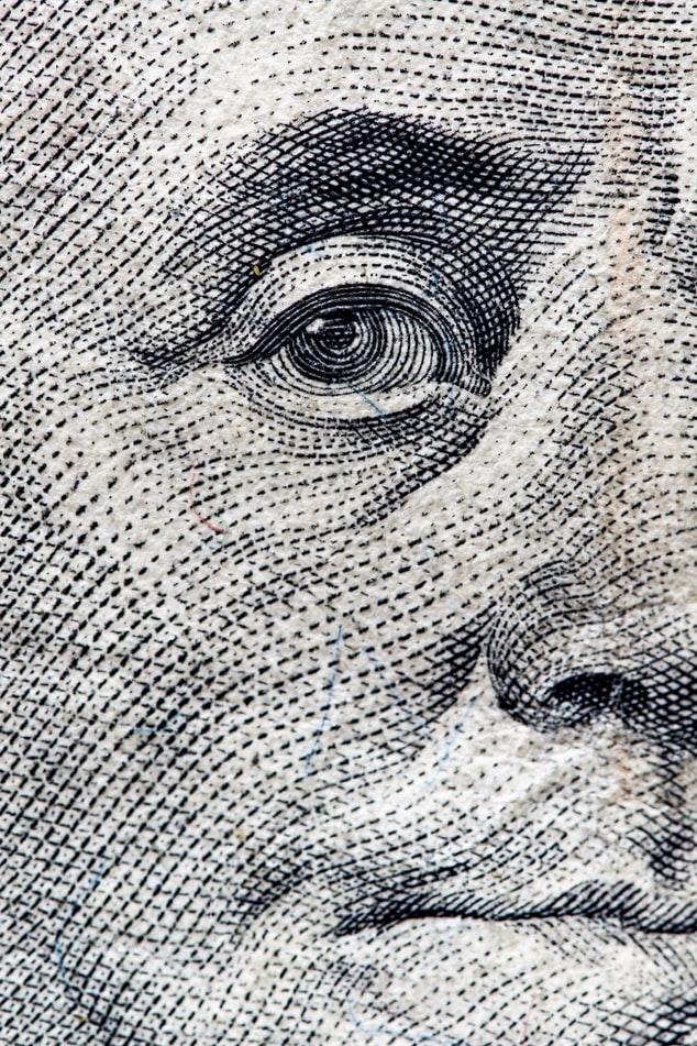 הפנים של הדמות על הדולר