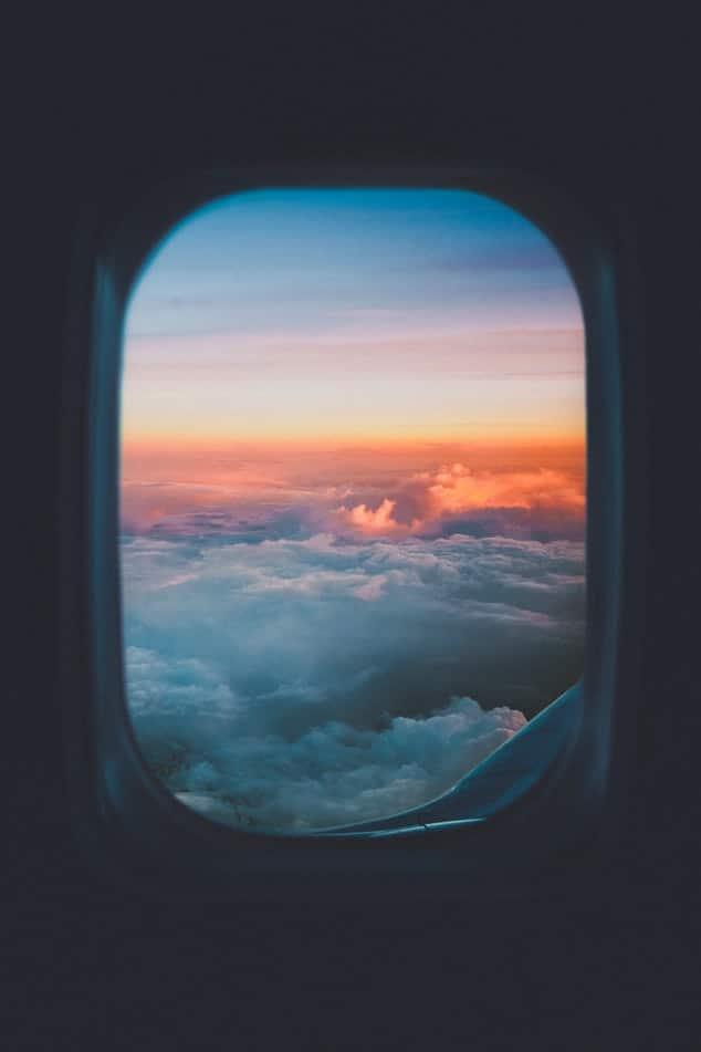 חלון של מטוס