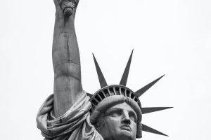 החצי השני של פסל החירות