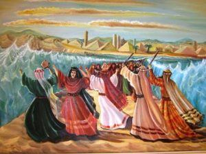 נשים בקריעת ים סוף