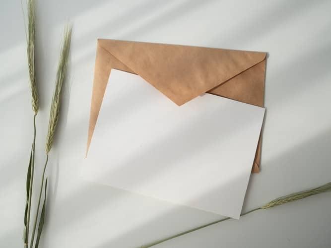 מכתב ריק