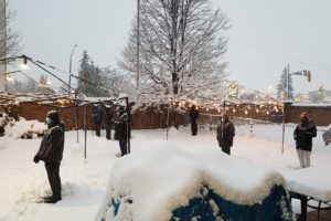 Snow minyan