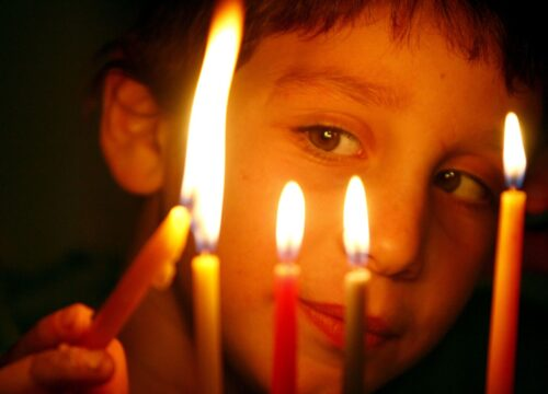 Three Hanukkah candle messages