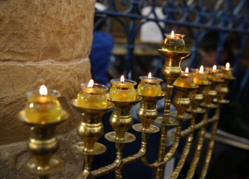 Becoming a Jew and the penetrating light of Hanukkah
